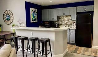Regency Park-Clubhouse Kitchen, Regency Park Apartment Homes