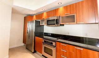 Kitchen, 241 Riverside Drive Unit 1605
