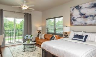 Bedroom, Galloway Creek Lofts