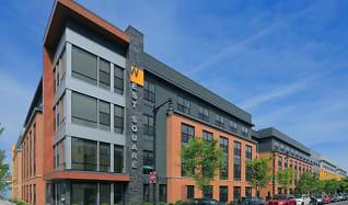 Building, West Square