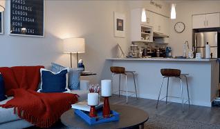 Living Room, 1 Park Row W Unit 135