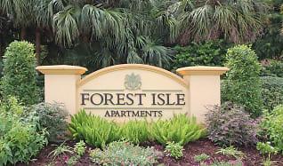Community Signage, Forest Isle Apartments