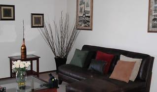 Living Room, Indian Oaks Apartments