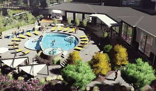 Pool, Highline Pointe Apartments