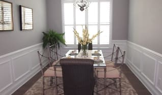 Dining Room, Showhomes
