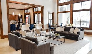 Living Room, Palazzo at Cypresswood Apartments