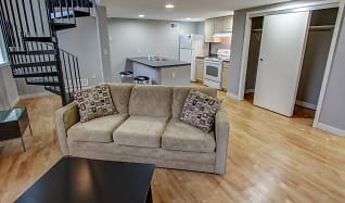 Living Room, Lofts At The Mill