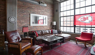 Living Room, Old Town Lofts
