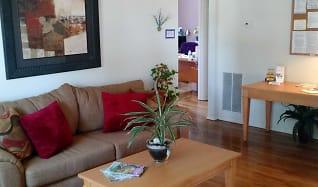 Living Room, Walnut Bay Apartments