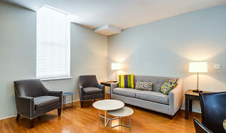 Living Room, Baker Chocolate Factory Apartments