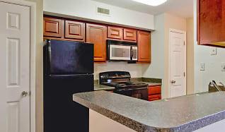 Kitchen, Shore Acres on the Monon Apartments