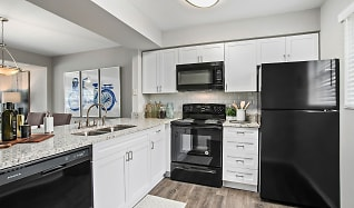Kitchen, The Coast Townhomes of Naples