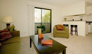 Living Room, The Newporter Apartments