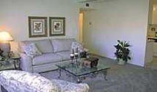 Living Room, Summerwood Apartments