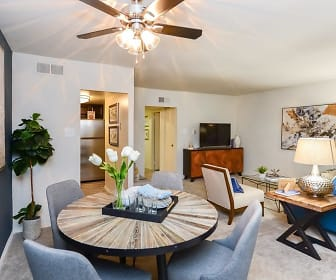 Dining Room, Sherwood Crossing Apartments & Townhomes