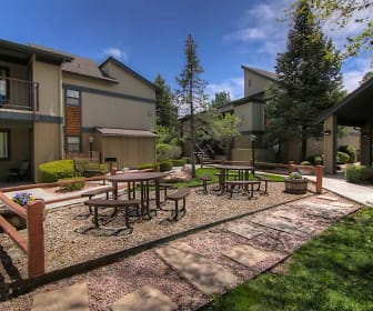 Exterior-Courtyard, University Square Apartments
