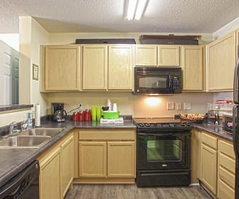 Kitchen, University Landing & Academic Pointe LEASED BY THE BED