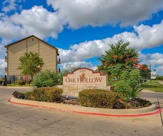 Community Signage, Oak Hollow