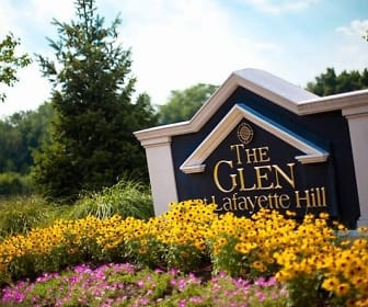 Community Signage, The Glen at Lafayette Hill