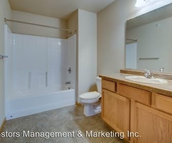 Bathroom, Meadow Ridge Apartments