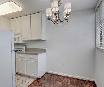 Bathroom, Hill House Apartments