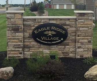 Community Signage, Eagle Ridge Village Apartments
