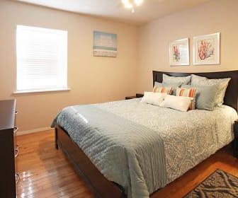 Bedroom, Waters Mark Apartments