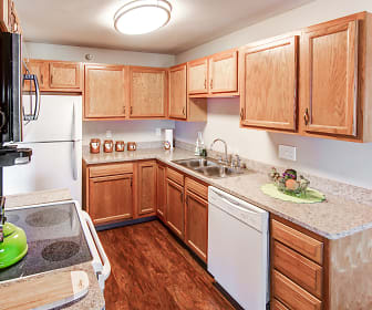 Kitchen, New Legacy Apartments