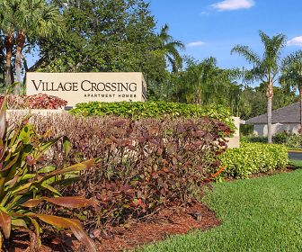 Community Signage, Village Crossing Apartments