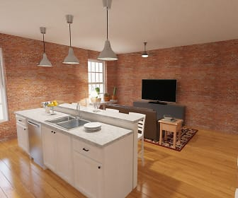 Kitchen, Spencer's Mill Apartments