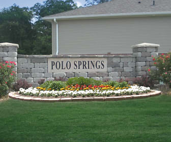 Community Signage, Polo Springs Apartments