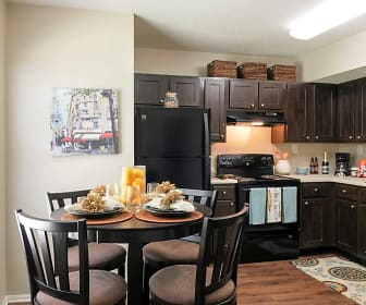 Kitchen, The Residences at Parc Station