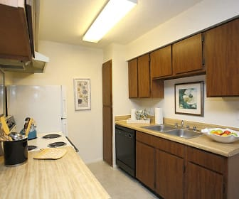 Kitchen, Northridge Court Apartments