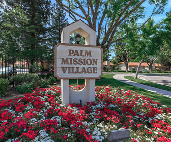 Community Signage, Palm Mission Village Apartments