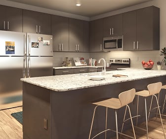 Kitchen, Onshore Student Apartments