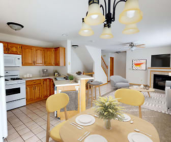 Kitchen, French Creek Townhomes