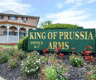 Community Signage, King Of Prussia Arms
