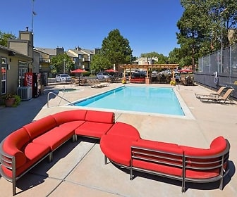 Pool, Loretto Heights Apartments