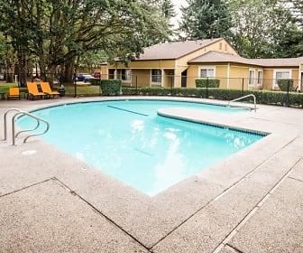 Steilacoom Apartments - Harbor Oaks Apartments - Pool, Harbor Oaks
