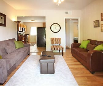 Living Room, Waters Mark Apartments