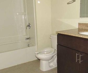 Bathroom, Market View Apartments