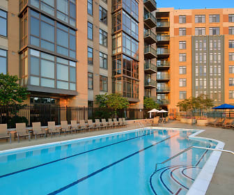 Pool, Delancey at Shirlington Village