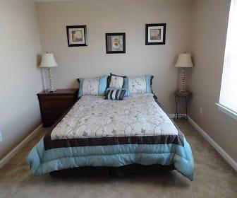 Bedroom, Village Crossing Apartments