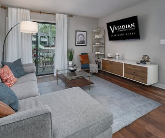 Living Room, Veridian at Sandy Springs