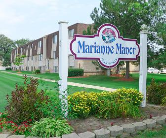 Community Signage, Marianne Manor