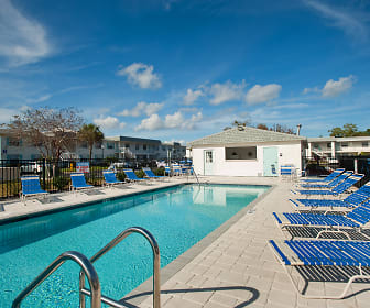 Pool, Seaside Apartments
