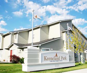 Community Signage, Keeneland Park
