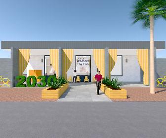 Community Signage, The Flats at 2030