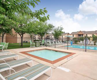 Pool, The Brazos Apartments