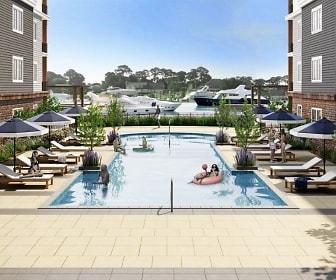 Pool, The Pearl at Marina Shores